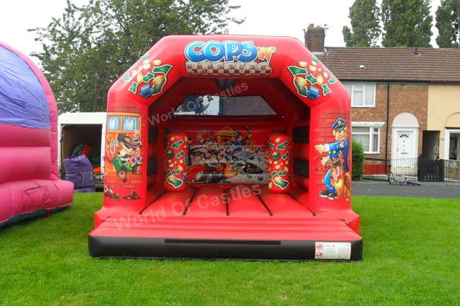 Cops and Robbers Bouncy Castle