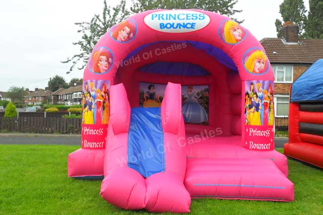 21ft x 15ft Princess Bouncy Castle With Slide