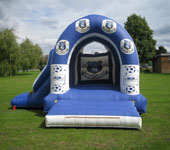 Everton FC With Slide Bouncy Castle