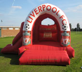 Liverpool FC With Slide Bouncy Castle