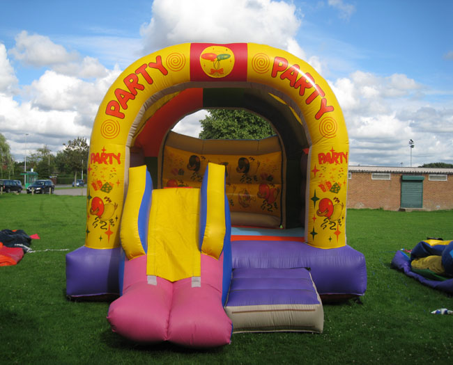 Party Party with slide Bouncy Castle