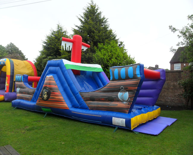 32ft x 12ft Pirate Ship Assault Course