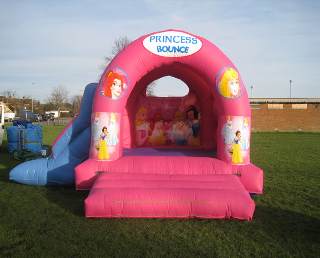 Princess With Slide Bouncy Castle