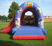 Toy Story With Slide Bouncy Castle